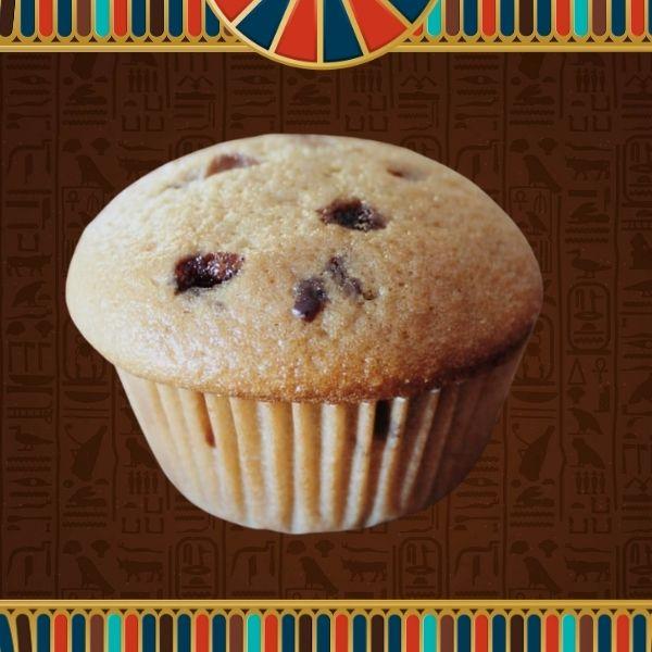 Vanilla Choc Muffin